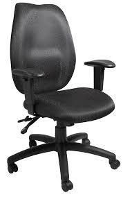 Amazon.com: Boss Office Products B1002-BK High Back Task Chair In ... Ki Impress Ultra High Back Task Chair Flash Fniture Black Leather And Mesh Swivel Buy Cs Alpha 3 Lever At Mighty Ape Nz Office Essentials By Ofm Ess3050 3paddle Ergonomic Amazoncom Boss Products B1002bk In Via Seating Brisbane Highback Executive Ofx Office Arista With Arms Ofpdirect Gray Galaxy Designer Adjustable Height Homall Pu Computer Desk