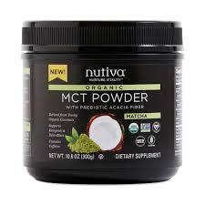 Nutiva Organic MCT Powder Matcha Thrive Market