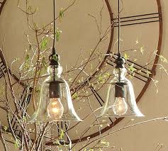 mini pendants from pottery barn so sweet and simple lumi礙re