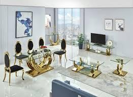 brilliant designer tv lowboard gold edelstahl konsolentisch tisch glastisch