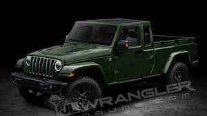 2018 Jeep Wrangler Scrambler Pickup Name And Diesel Engine Option ...