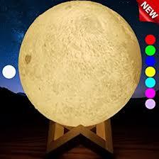 Amazon SensoryMoon 3D Printing Moon Lamp Night Light