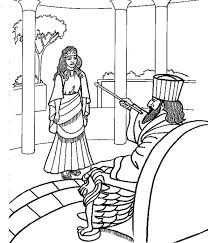 Esther Coloring Page 1724 Best Images About Sunday School Worksheets Activities