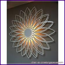 wall design ideas flower light up wall sle classic