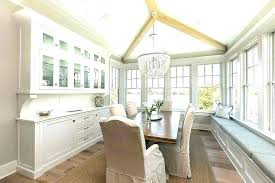 Dining Room Built In Cabinets Ins Cottage