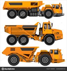 100 Articulating Dump Truck Powerful Articulated Dump Truck Stock Vector Grandnat 192855558