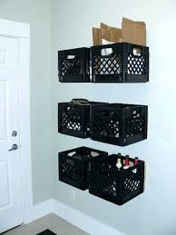 Milk Carton Storage Crates Plastic Containers Crate Bench Shame Items Ways