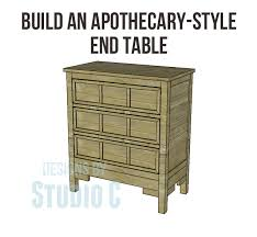 build an apothecary style table u2013 designs by studio c