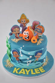 Bubble Guppies Cake Decorations by Rozanne U0027s Cakes Bubble Guppy Cake