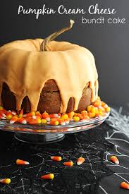Pumpkin And Cake Mix Dessert by Pumpkin Cream Cheese Bundt Cake Creme De La Crumb