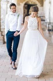 White Beach Wedding Dresses Luxury Suknia …›lubna Boho Od Caroliny