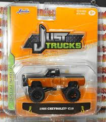 JADA JUST TRUCKS 1985 CHEVY C10 COPPER WAVE 14 2017 DIE CAST METAL 1 ...