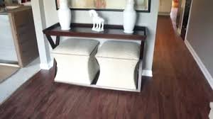 Linoleum Flooring That Looks Like Wood by How To Install Vinyl Plank Flooring Youtube