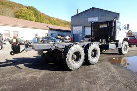 100 Am General Trucks 1986 AM GENERAL M927A1 CAB CHASSIS TRUCK FOR SALE 604503