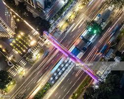 100 Birdview Gelora Bung Karno Pedestrian Bridge From HighRes