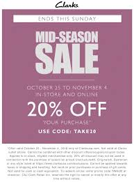 Clarks Coupons - 20% Off At Clarks, Or Online Via Promo Code ...