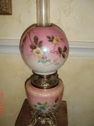 Antique Hurricane Lamp Globes by Antique Victorian Piano Organ Floor Lamp Kerosene Hand Painted