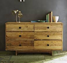 41 Incredible Reclaimed Wood Dressers Regarding Light Wood Dresser
