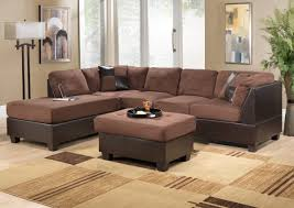 Sectional Sofa Bed Ikea by Captivating Living Room Furnishings Using Suede Leather Upholstery