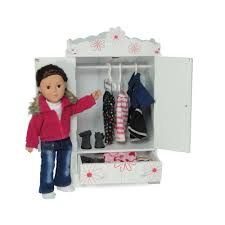 Amazon.com: Large 18 Inch Doll Armoire   Storage Furniture Fits 18 ... Kidkraft Darling Doll Wooden Fniture Set Pink Walmartcom Amazoncom Springfield Armoire Journey Girls Toysrus 18 Inch Clothes Drses Our Generation Dolls Wardrobe Toys For Kashioricom Sofa Armoire Kidkraft Next Little Kidkraft 18inch New Littile Top Youtube Chair And Shop Baby Here