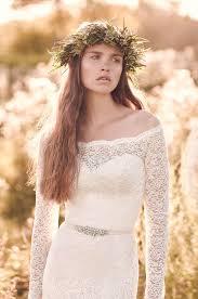 long lace sleeve wedding dress style 2055 mikaella bridal