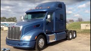 100 Peterbilt Model Trucks 587 75 Sleeper 2016 Blue Grand Rapids