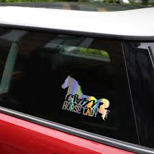 Aliexpress.com : Buy Tancredy 2nd Half Price Crazy Horse Lady Car ... Fashionable Cute Horse Hrtbeat Decorative Car Sticker Styling In Loving Memory Of Decals Two Quarter Name Date Car Window Amazoncom Eye Candy Signs Running Decal Window Running Horse Truck Trailer Vinyl Decal Decals 7 X70 Ebay Want A Stable Relationship Buy Funny Vinyl Flaming Side Graphics Decal Decals Truck Mustang Trailer Flames Cut Auto Xtreme Digital Graphix Gate Open For Lovers Riders Reflective Heart Creative Cartoon Animal Bull Cow Head Skull Silhouette Body Jdm Art Tilted Cat 14x125cm Noahs Cave