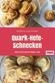 hefe quark schnecken für ostern mamablog einer schreit