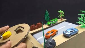 Racing Game DIY - How To Make Race Car Track Game From Cardboard ...
