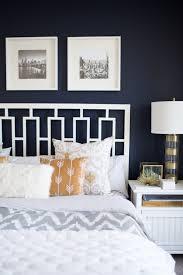 Navy Wall Bedroom Ideas
