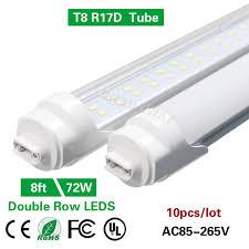 r17d bright row 8ft t8 2 4m led smd 2835 led