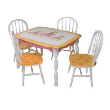 VINTAGE PLAY TABLE & CHAIR SET