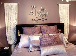Bedroom Exciting Wall Decor For Teenage Girl Diy Room Decorating Ideas Teenagers Flowers Purple