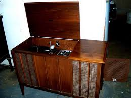 Cabinet & Shelving Vintage Record Player Cabinet Interior