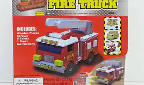100 Fire Truck Model Kits Wooden Kit Wooden Thing
