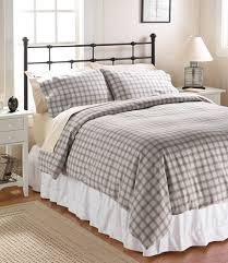 Heritage Chamois Flannel forter Cover Collection Plaid