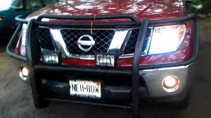 nissan frontier with led lights