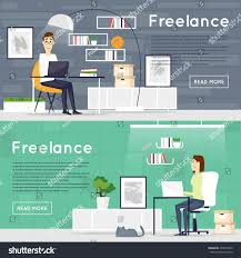 Freelance Working Home Office Work Banners Stock Vector 458591833 ... Work From Home Graphic Design Mannahattaus Best 25 Freelance Graphic Design Ideas On Pinterest Personal Online Assistant Character Stock Vector Awesome Contemporary Decorating Web Peenmediacom 100 Jobs Beautiful Can Bristol Working Office Banners 458591833 Job Posting Sites Search Search Flat 428869168 Oli Lisher Freelance Website Designer Illustrator Greetings When I Am Not Illustrating A Commercial