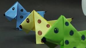 How To Make A Paper Origami Dog Easy Crafts