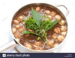 cuisine bouquet garni boeuf a la bourguignon beef burgundy dish with stock