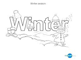 Winter Color Pages Free Coloring For Kindergarten Number By Page Printable Games