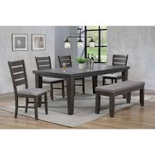 Bardstown 6 Piece Dining Set W/ 4 Chairs & Bench By Crown Mark At Dunk &  Bright Furniture Argos Home Lido Glass Ding Table 4 Chairs Black Winsome Wood Groveland Square With 5piece Ktaxon 5 Piece Set4 Chairsglass Breakfast Fniture Crown Mark Etta And Bench 22256p Hesperia Casual Drop Leaves Storage Drawer By Coaster At Value City Braden Set Includes Morris Furnishings Tall Ding Table Chairs Height Canterbury Ekedalen Dark Brown Orrsta Light Gray Cascade Round Kincaid Becker World Costway Metal Kitchen