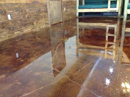Inexpensive Patio Floor Ideas by Stained Cement Floors Diy Concrete Stain Floors U2013 Waters Edge
