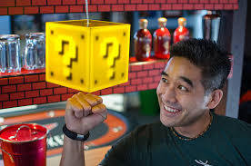 Mario Question Mark Block Lamp by Light Up Your Room With The Super Mario Question Block Lamp Nerd