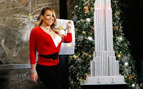 Rockefeller Christmas Tree Lighting Mariah Carey by Watch Mariah Carey U0027s U0027all I Want For Christmas U0027 Come To Life With