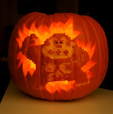 Lord Of The Rings Pumpkin Stencils by Donkey Kong Pumpkin Geeky Pumpkins Popsugar Tech Photo 27