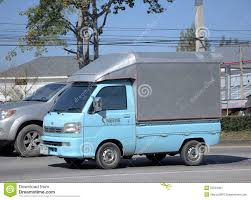 Private Mini Truck Of Daihatsu Hijet. Editorial Photo - Image Of ...