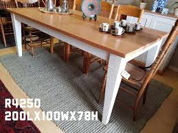 Perfect Pine Dining Room Table W H I T E P A N D O R G M B L Strand Gumtree Chair And Furniture Cabinet Bench Set Hutch