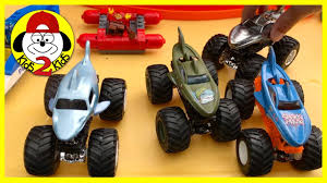100 Shark Wreak Monster Truck Hot Wheels Jam Toy S Playing Racing SHARK WEEK TV