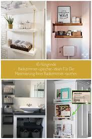 11 hängende badezimmer speicher ideen für die maximierung